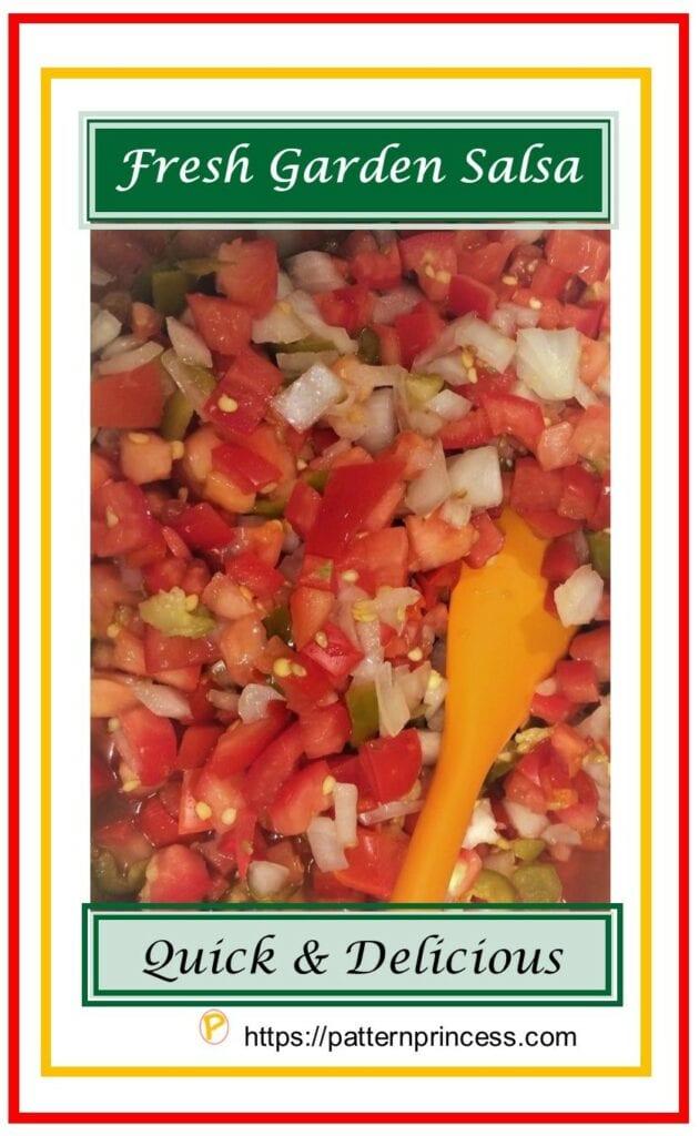 Fresh Garden Salsa