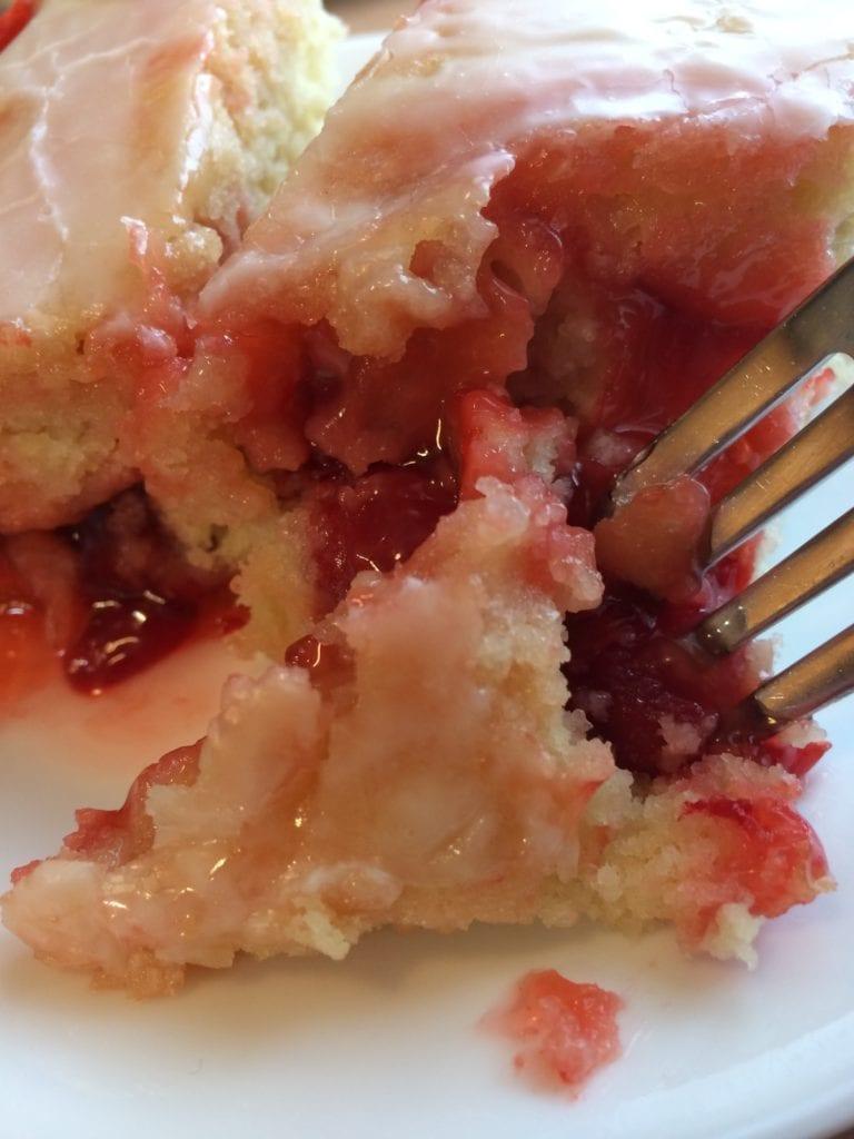 cherry butter cake