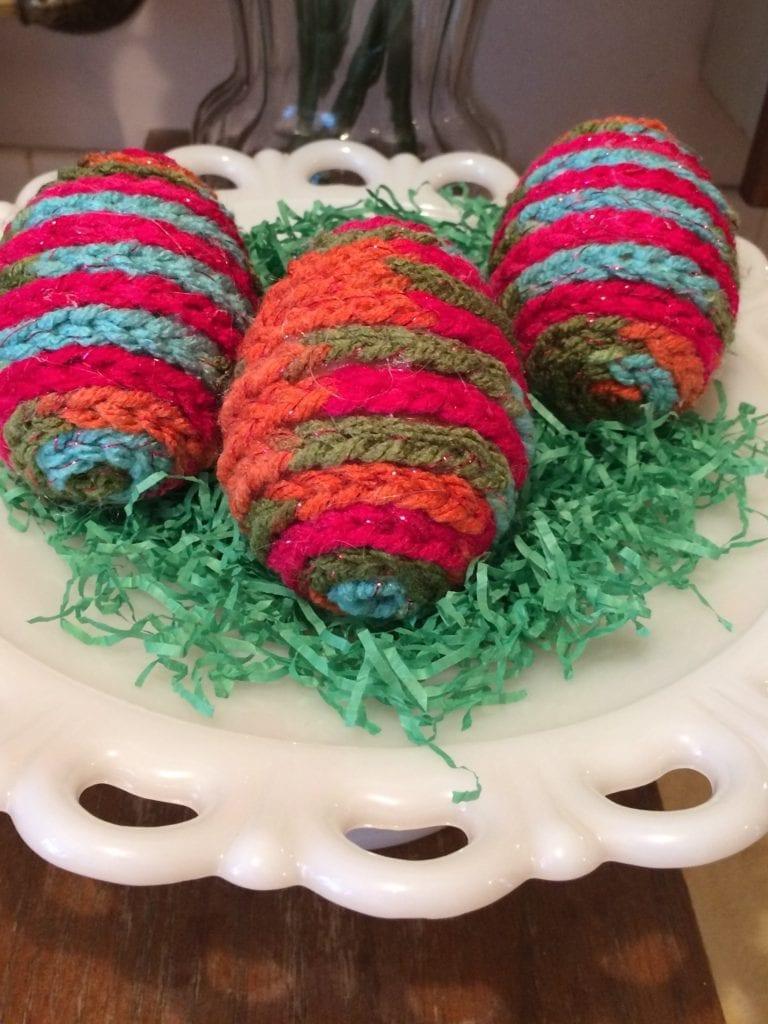 Crochet Egg Decoration
