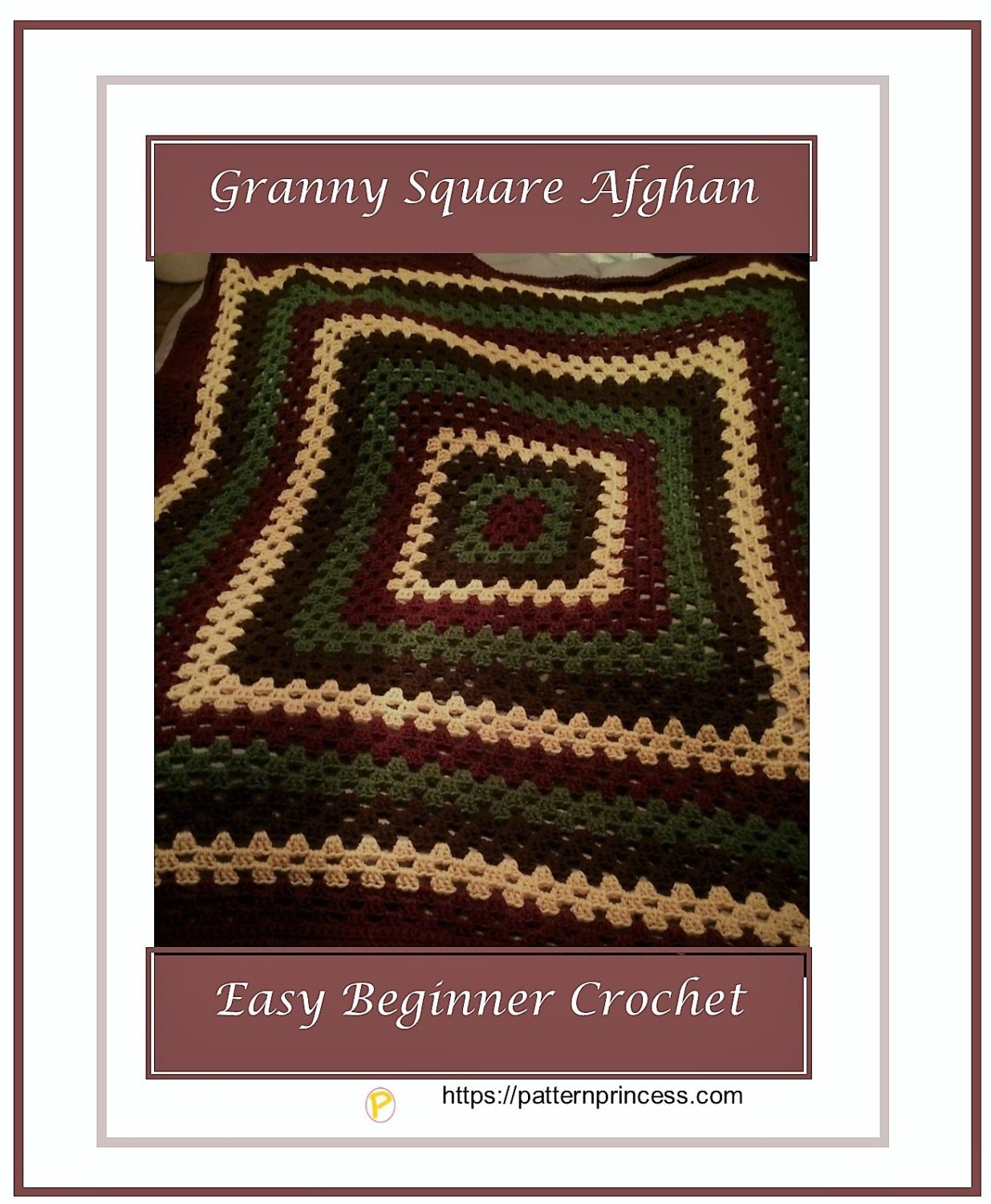 Granny Square Afghan 1
