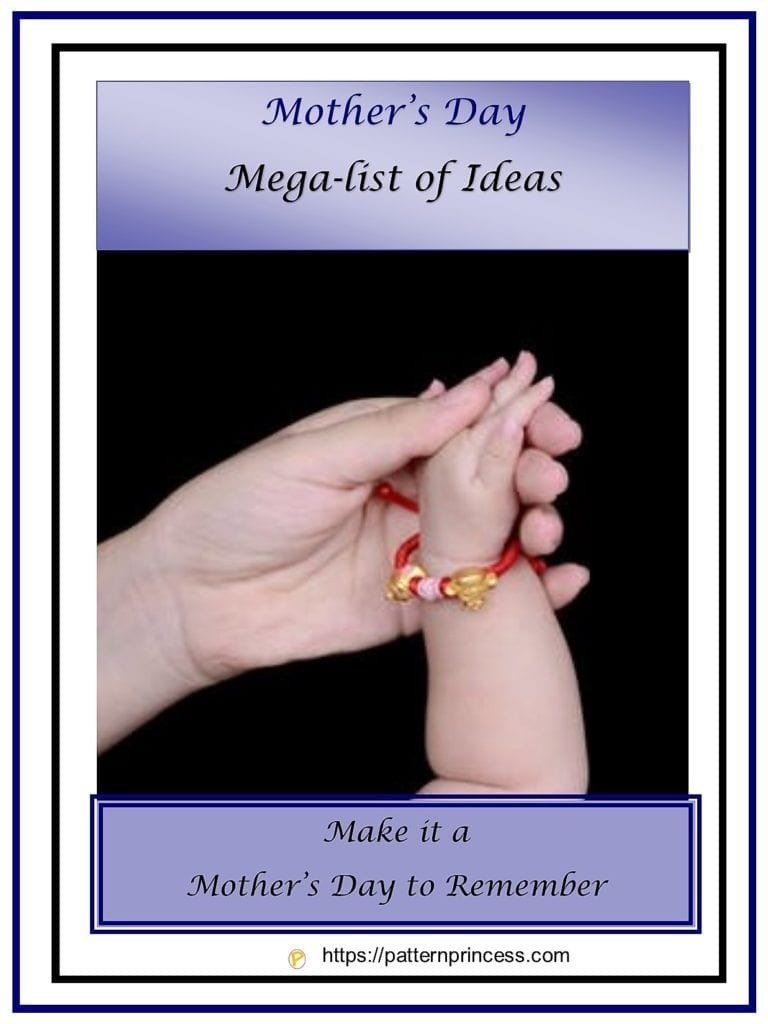 Mother's Day Mega-list of Ideas 1