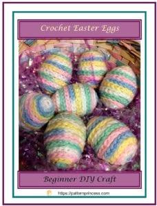 Pastel Easter Eggs to Crochet 1