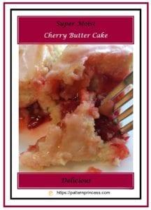 Super Moist Cherry Butter Cake 3