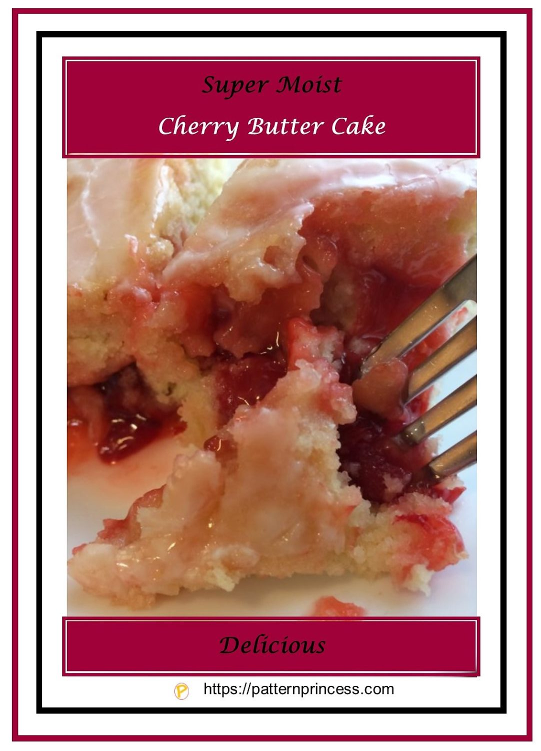 Super Moist Cherry Butter Cake 3
