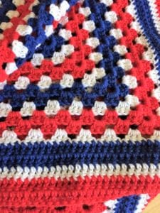 Double Crochet Finished Edge