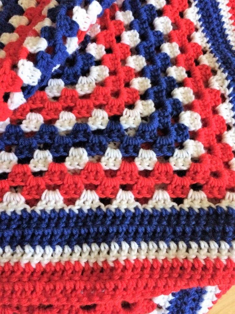 Double Crochet Finished Edge