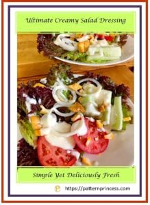 Ultimate Creamy Salad Dressing 1