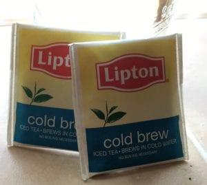 how to make sun tea with lipton tea bags