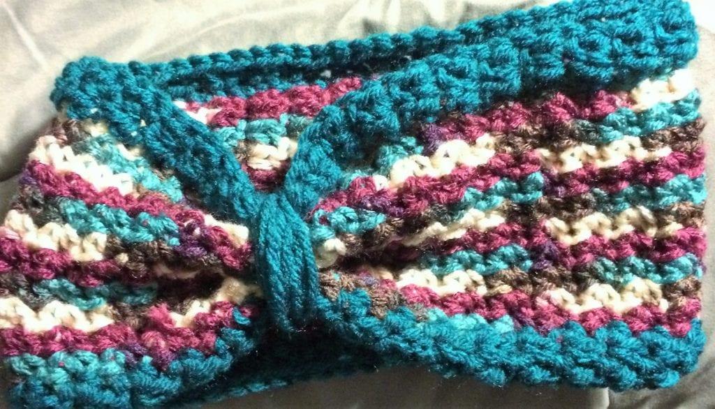 Head Band Pattern using Antique yarn