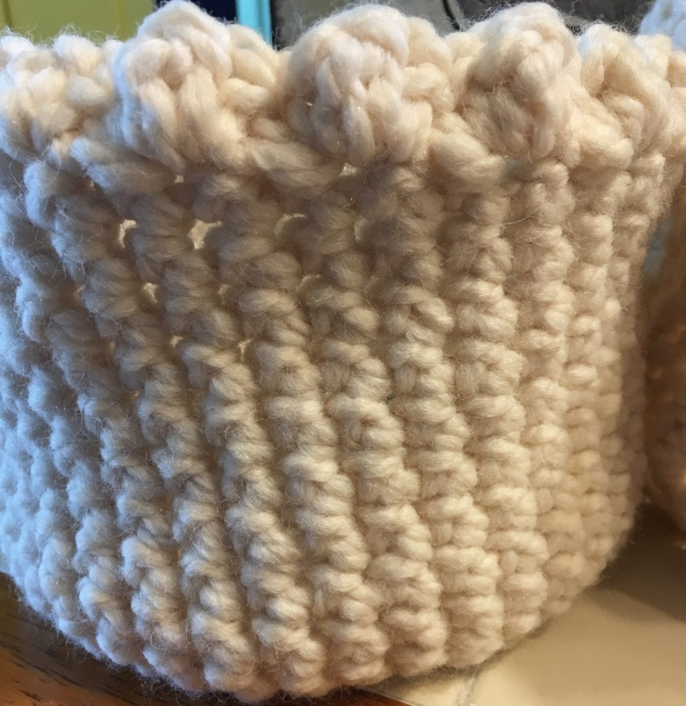 SC crochet basket