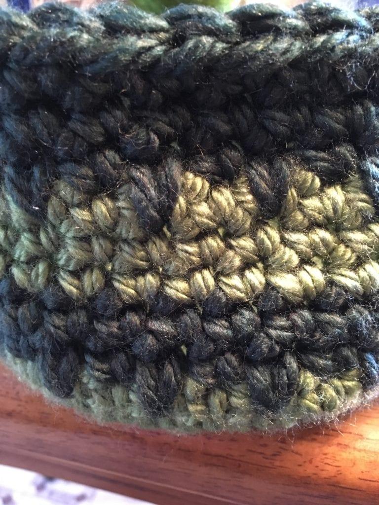 Spike Stitch Close UP