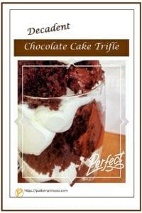 Decadent Chocolate Cake Triffle