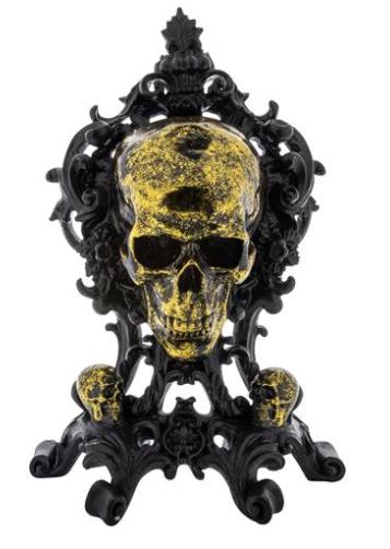 The Shrine Skeleton Mantle Piece