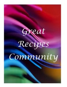 Great recipes community