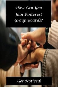 How can you join pinterest group boards