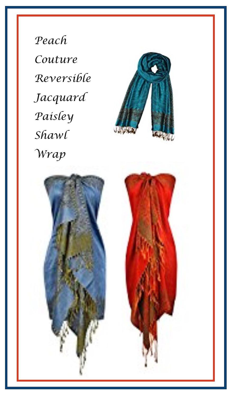 Paisley Shawl Wrap