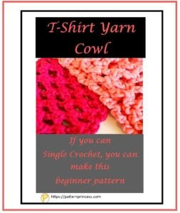 T-Shirt Yarn Cowl 1