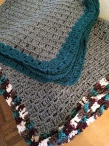 Completed Baby Afghan