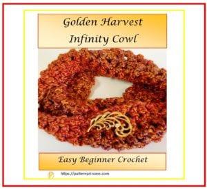 Golden Harvest Infinity Cowl 1