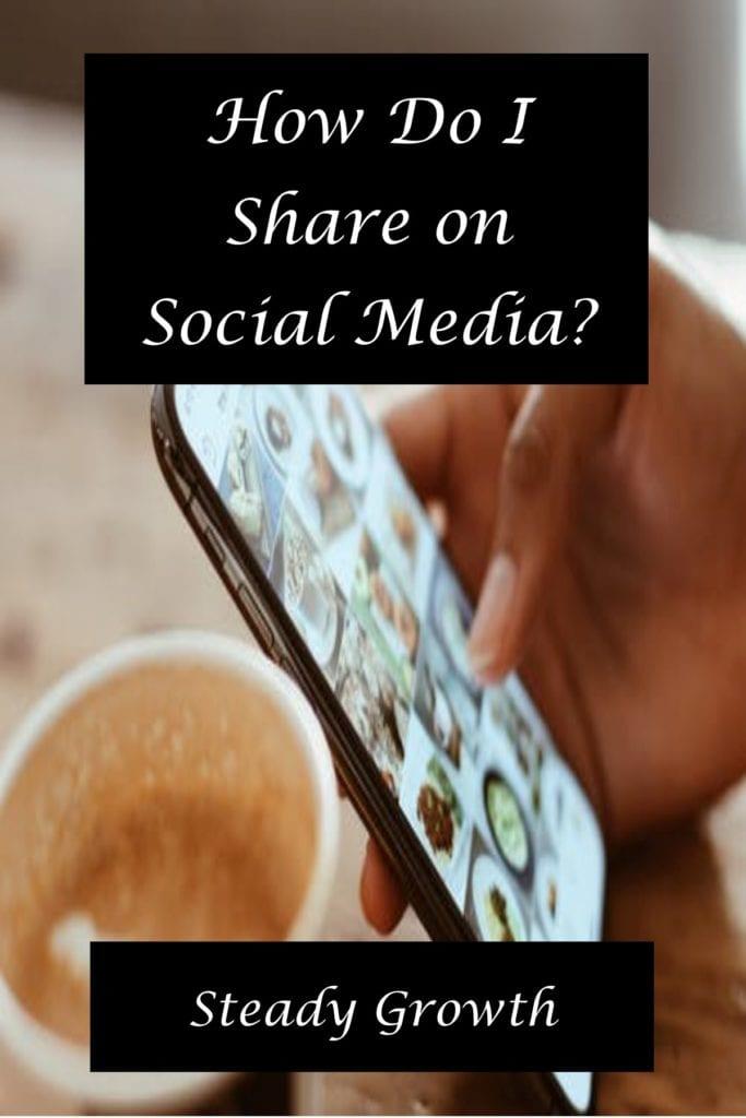 How do I share on social media