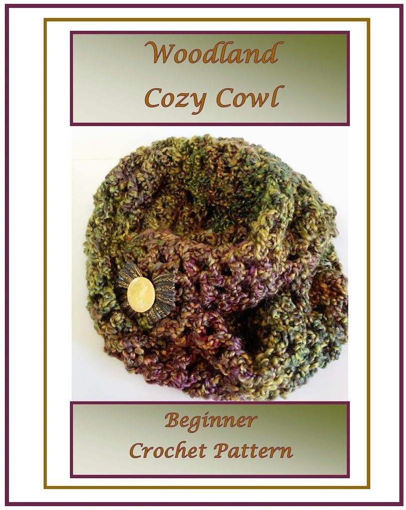 Woodland Cozy Cowl 1