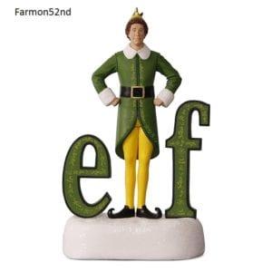2017 hallmark buddy the elf sound ornament