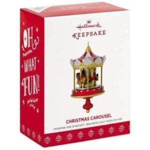 2017 hallmark christmas carousel ornament