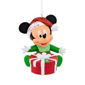 2017 hallmark disney mickey mouse 2017 babys 1st christmas ornament