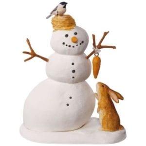2017 hallmark winter white snowman ornament