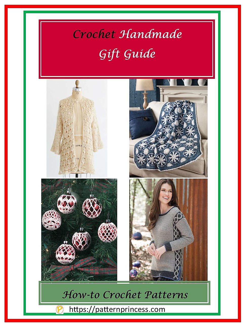 Crochet Pattern Handmade Christmas Guide 1