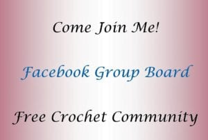 Free Crochet Community Facebook Group