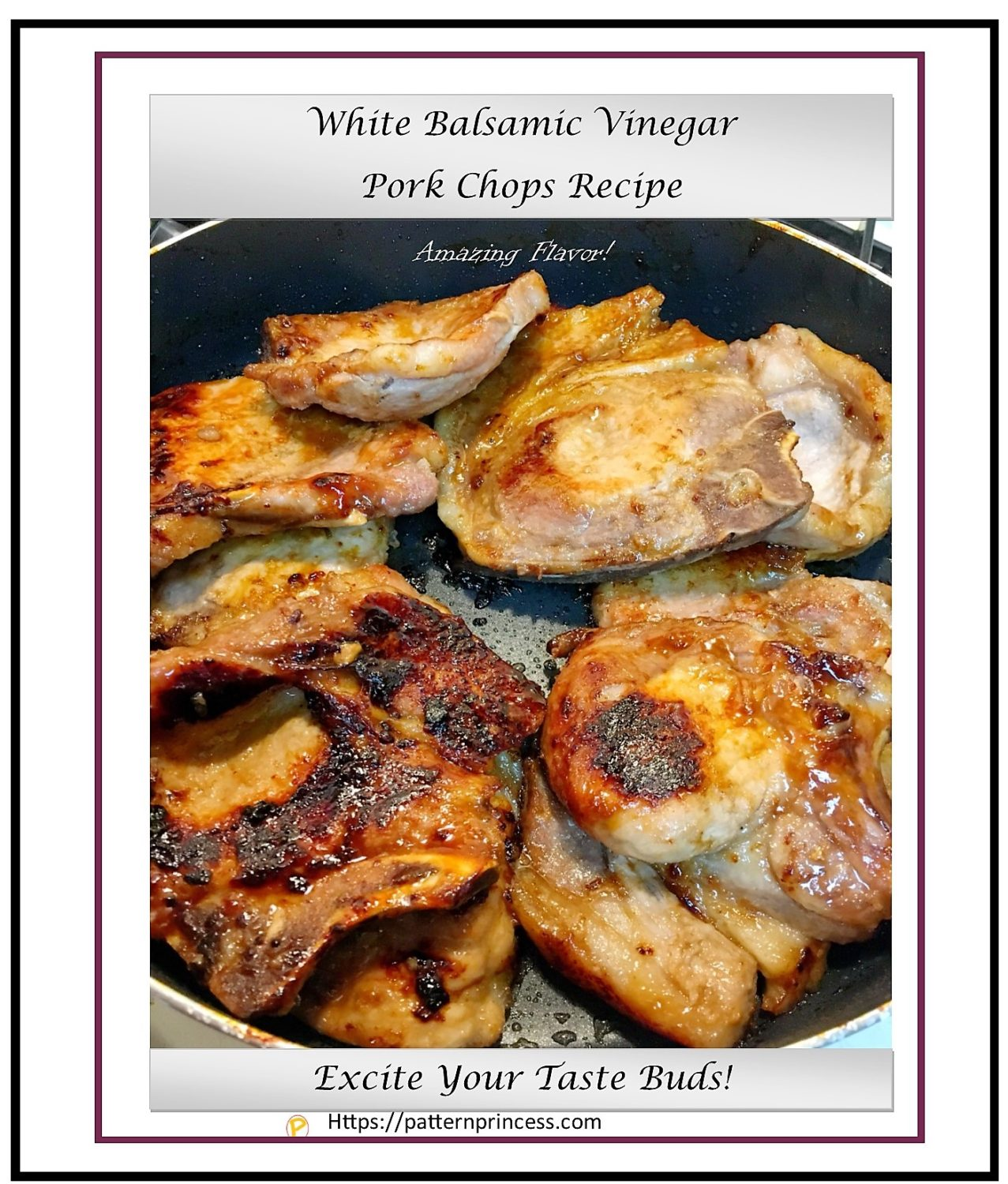 White Balsmic Vinegar Pork Chops Recipe 1