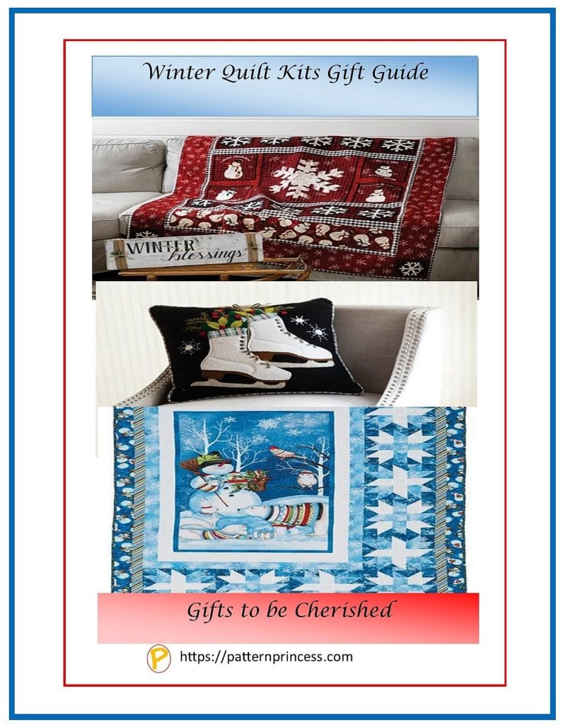 Winter Quilt Kits Gift Guide 1