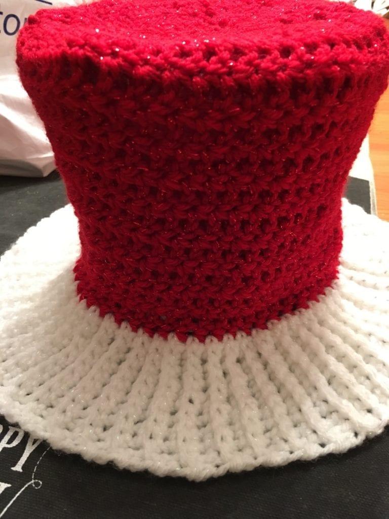 Crochet Hat as a Top Hat