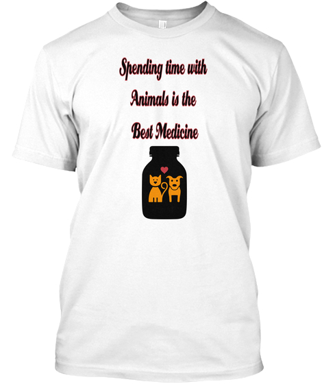 Spending time with animals t shirt