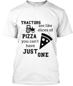 Tractors are like pizza