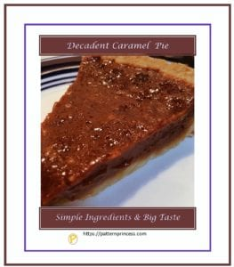Decadent Caramel Pie 1