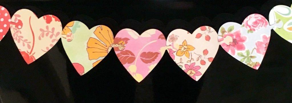heart garland 3