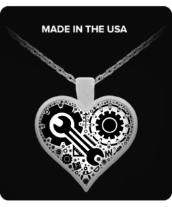 Engineer Love Necklace