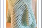 Misty Crochet Lacy Wrap 1