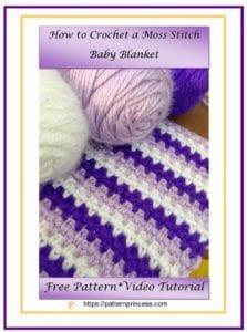 Crocheted Thick Hot Pad - Pattern Princess