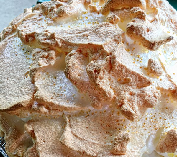 Meringue Topping Baked