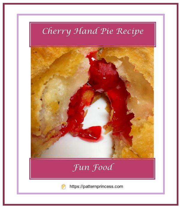 Cherry Hand Pie Recipe