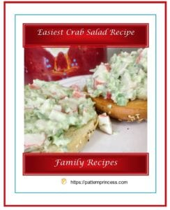 Easiest Crab Salad Recipe 1