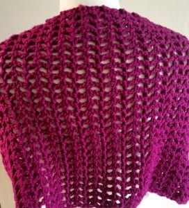Back View Weekend Comfort Cowl