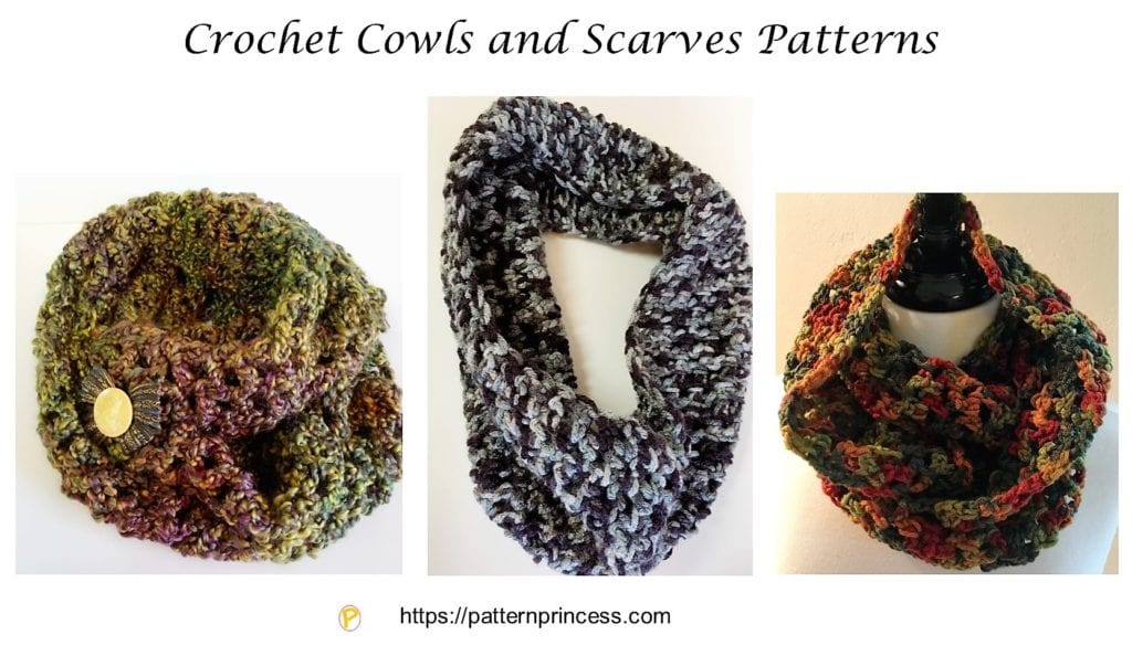 Crochet Cowls and Scarves Patterns