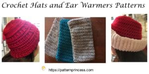Crochet Hats and Ear Warmers Patterns