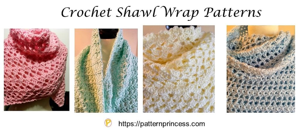 Crochet Shawl Wrap Patterns