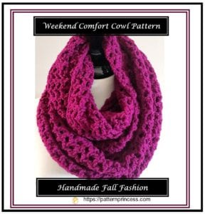 Weekend Comfort Cowl Pattern 1