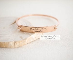 Actual Handwriting Jewelery
